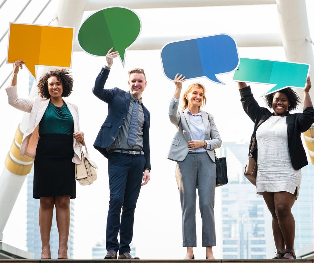 Verschiedene Formen der Kommunikation